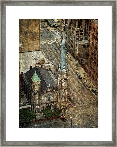 Old Stone Church Framed Print