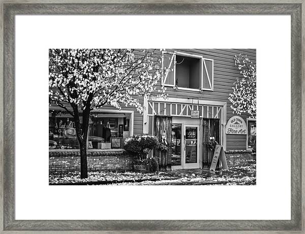 Old Town Gallery 2 Framed Print