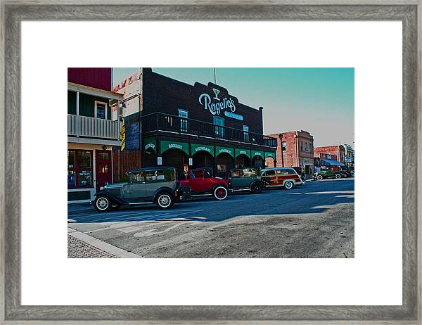 Old Town Isleton Framed Print