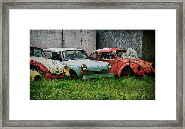 Old Volks Home Framed Print