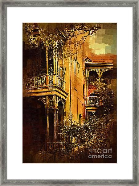 Old World Charm Framed Print