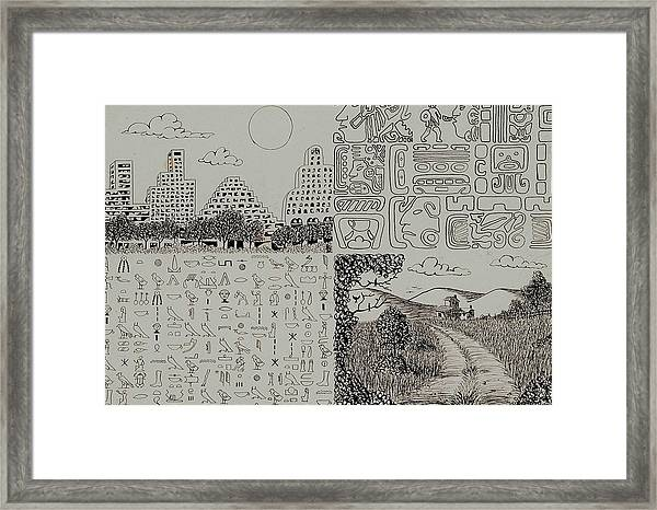 Old World New World Framed Print