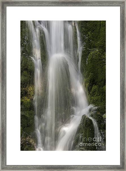 Olympic Waterfall Framed Print