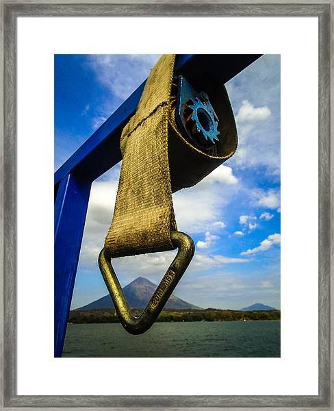 Ometepe Introvert Framed Print