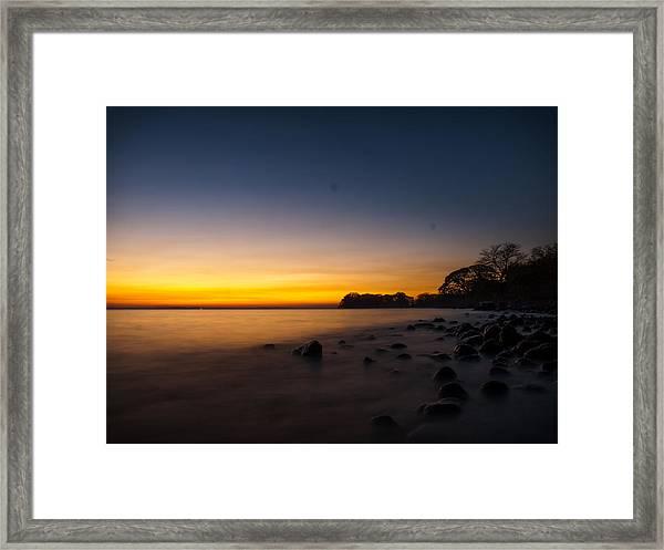Ometepe Lake Mist Framed Print