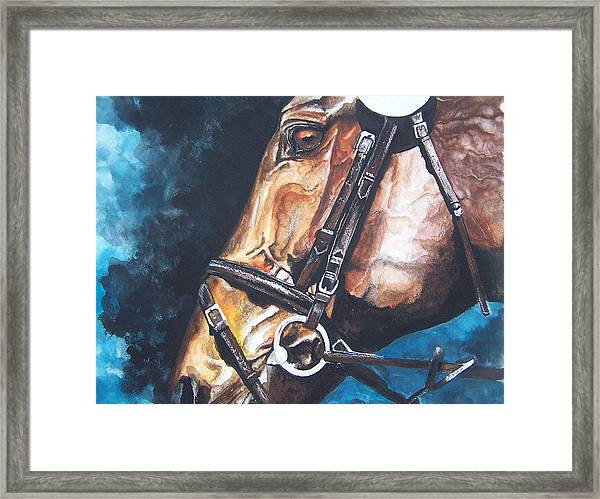 On Course Framed Print