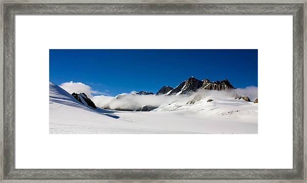 On Fox Glacier Framed Print