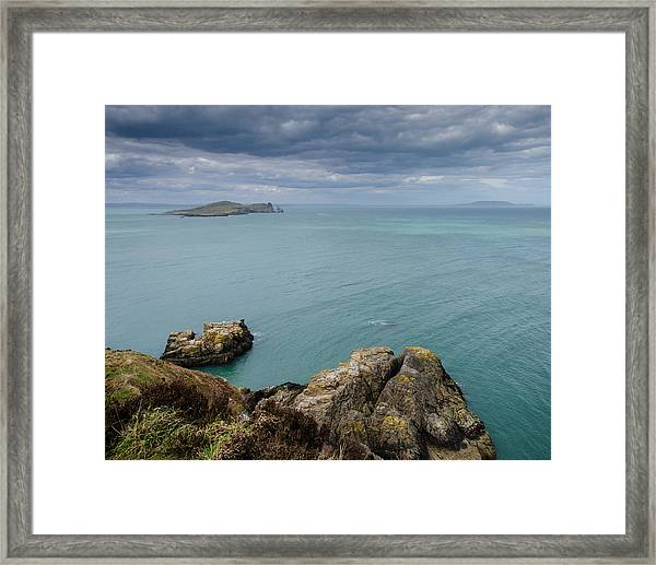 On Howth Head Framed Print