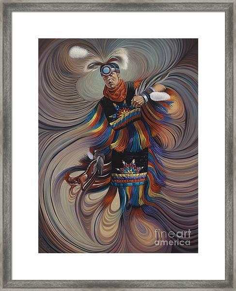 On Sacred Ground Series II Framed Print
