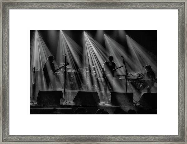 On Stage Framed Print
