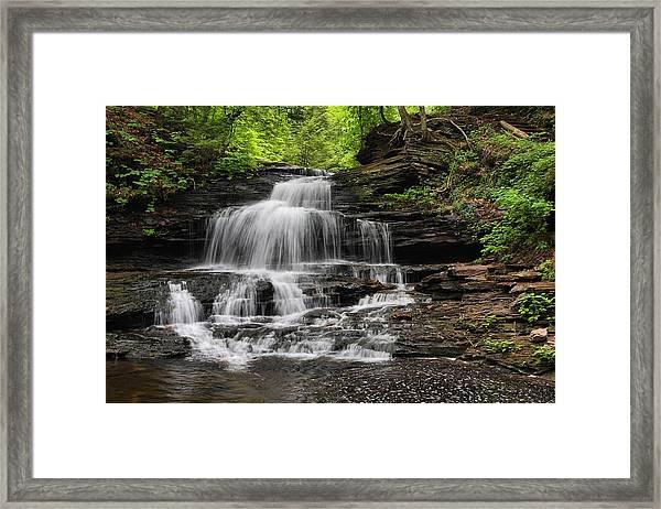 Onandaga Falls Framed Print