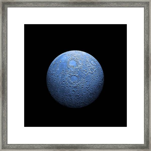 Once In A Blue Moon No.3 Framed Print