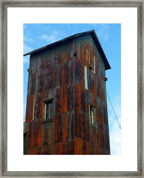 Framed Print featuring the photograph Once Upon A Mine by Gigi Dequanne