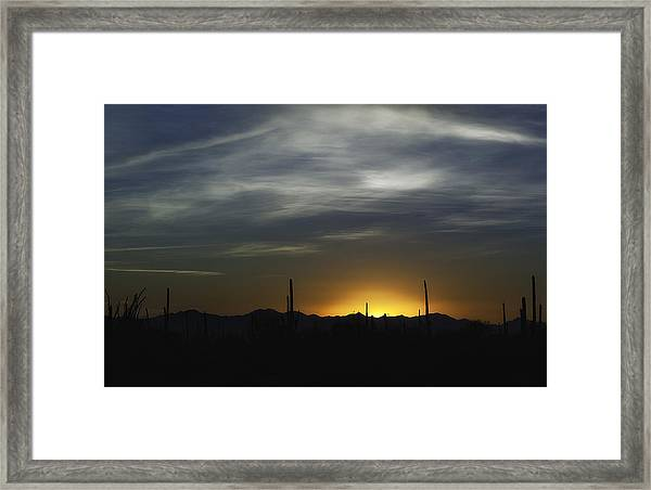 Once Upon A Time In Mexico Framed Print