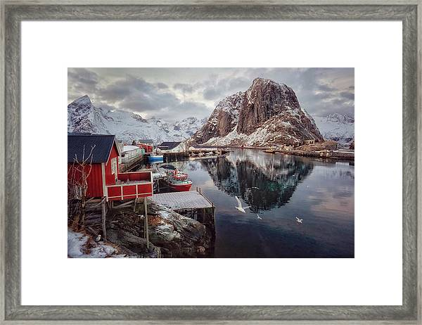 Once Upon A Time In The Arctic Framed Print
