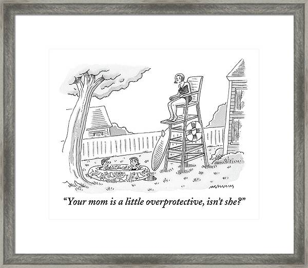 One Child To Another Framed Print