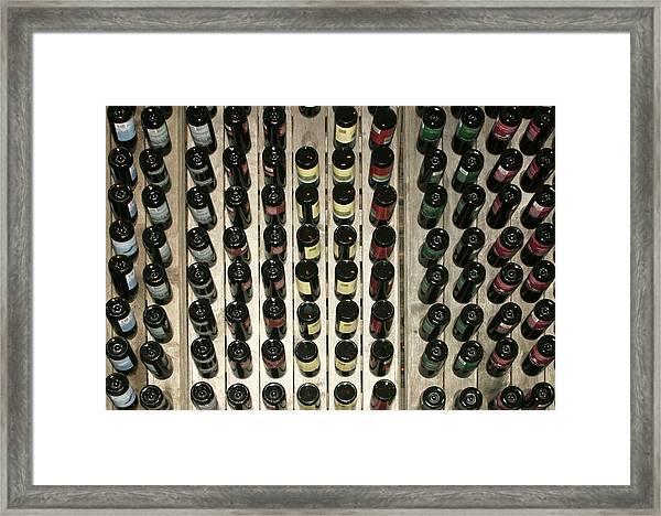 One Bottle Down Framed Print