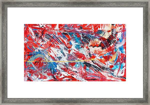 One Hundred Phoenixes Framed Print