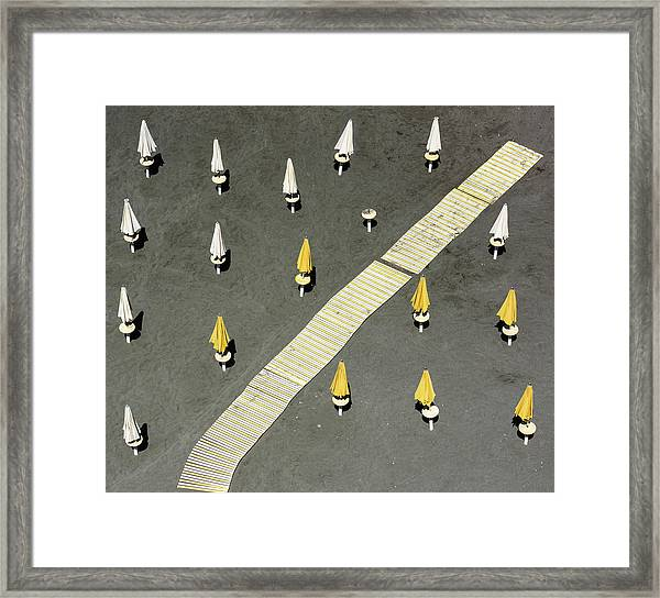 One Tent Awol Framed Print