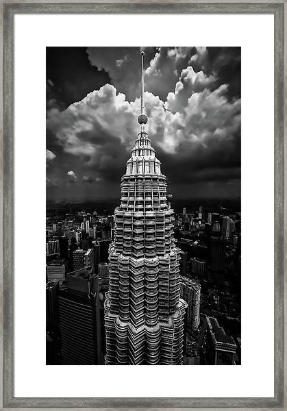 One Tower Framed Print