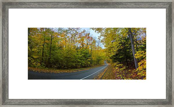 One Way On Pierce Stocking Drive Framed Print