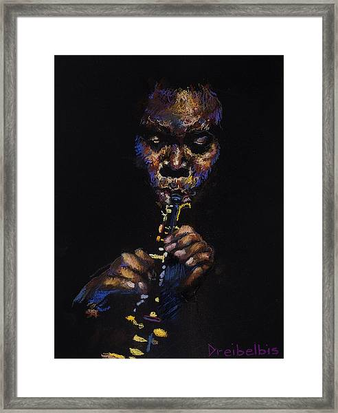 One With The Music Framed Print