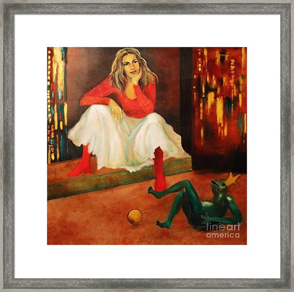 Only A Fairy Tale  Framed Print