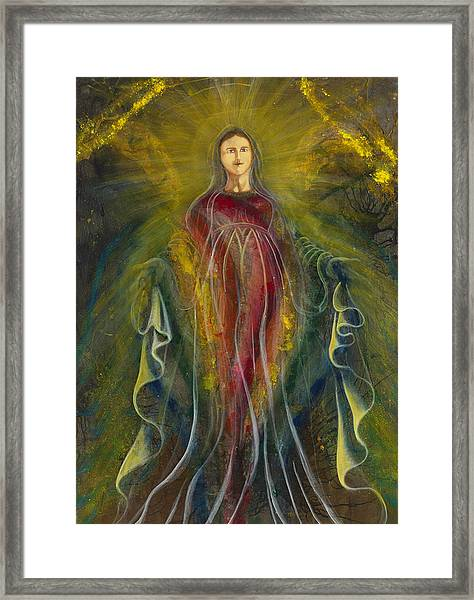 Only One Illuminates My Soul IIi Framed Print