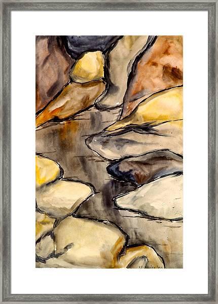 Only Rocks Framed Print