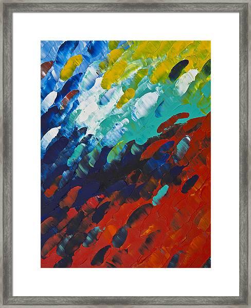 Only Till Eternity 1st Panel Framed Print
