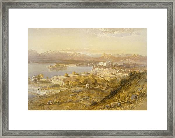 Oodypure, From India Ancient Framed Print