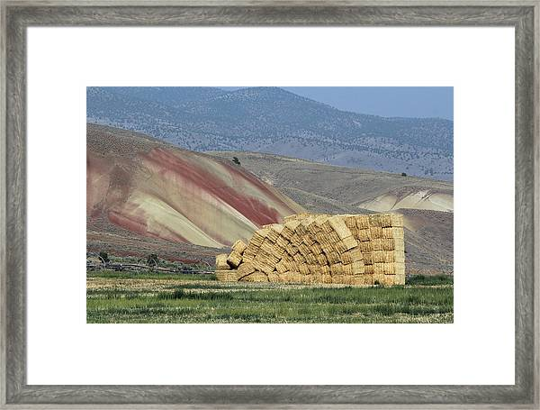 Oops - Something Shifted Framed Print
