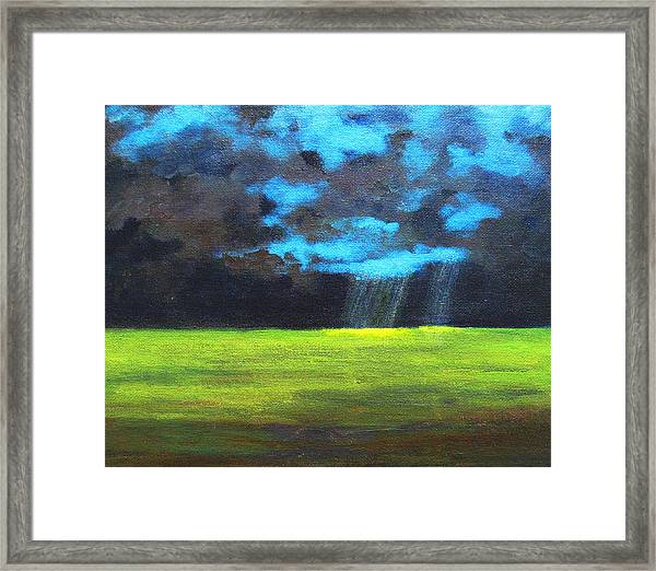 Open Field IIi Framed Print