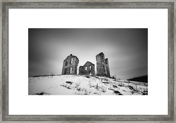 Open House Framed Print