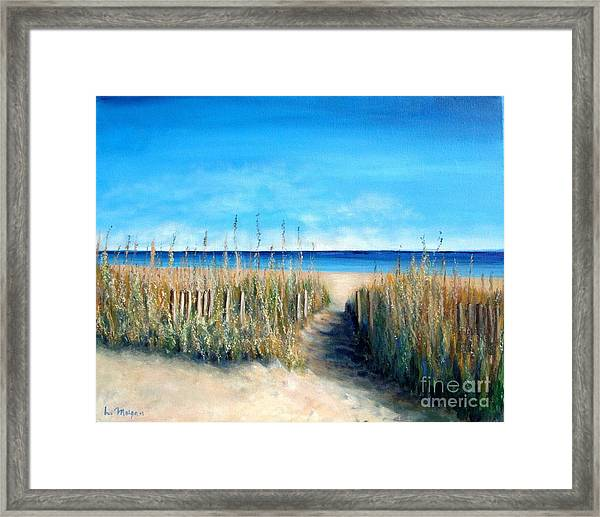 Pathway To Peace Framed Print