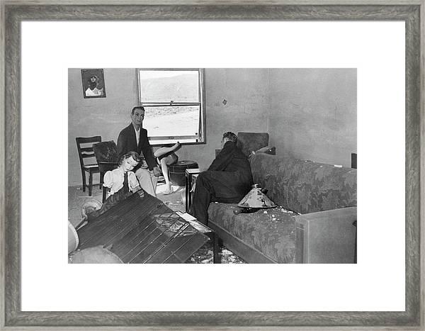 Operation Doorstop Atom Bomb Test Framed Print