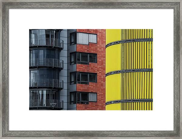 Opposite Attraction II Framed Print