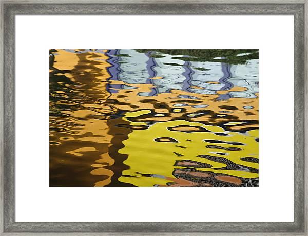 Orange House II Framed Print