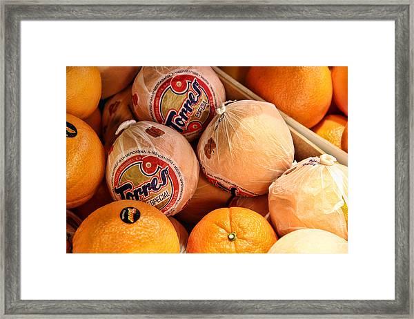 Oranges In Spain Framed Print