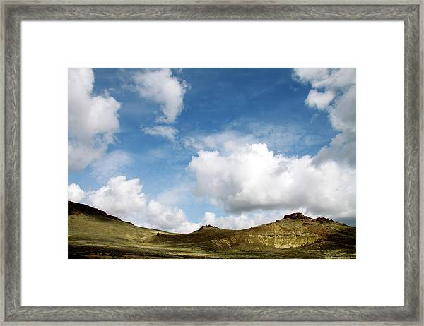 Oregon Trail Country Framed Print