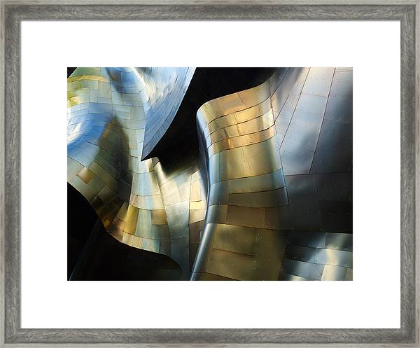 Organic Metal #3 Framed Print