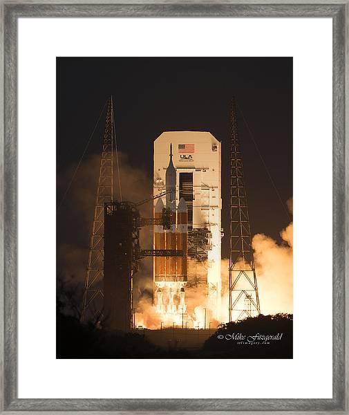 Orion Launch Framed Print