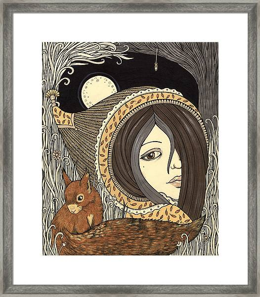 Orla Framed Print by Anita Inverarity