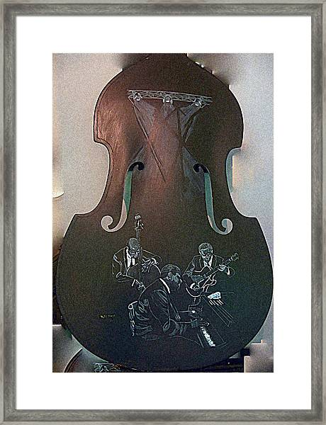 Oscar Peterson Trio Framed Print