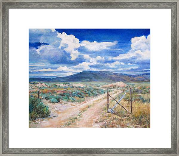 Osceola Nevada Ghost Town Framed Print
