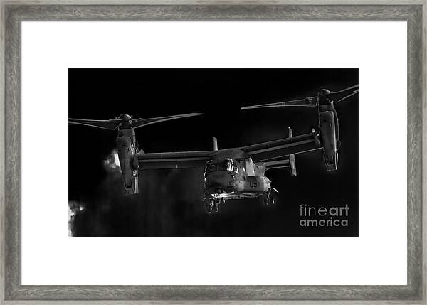 Osprey Night Ops Framed Print
