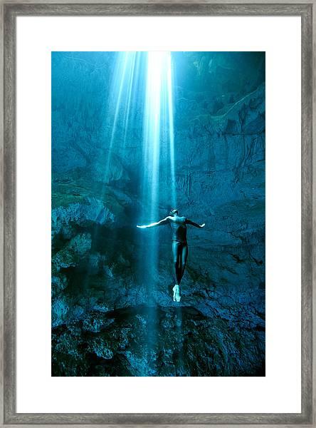 Otherworlds Framed Print by One ocean One breath