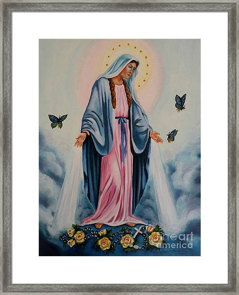 Our Lady Of Grace I Framed Print