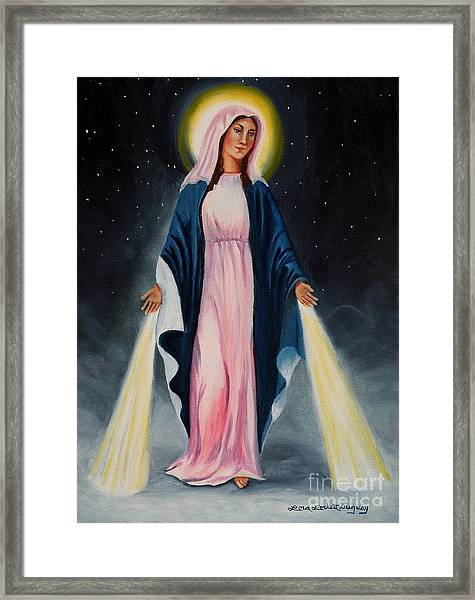 Our Lady Of Grace II Framed Print