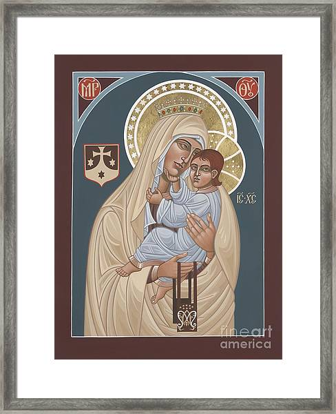 Our Lady Of Mt. Carmel 255 Framed Print